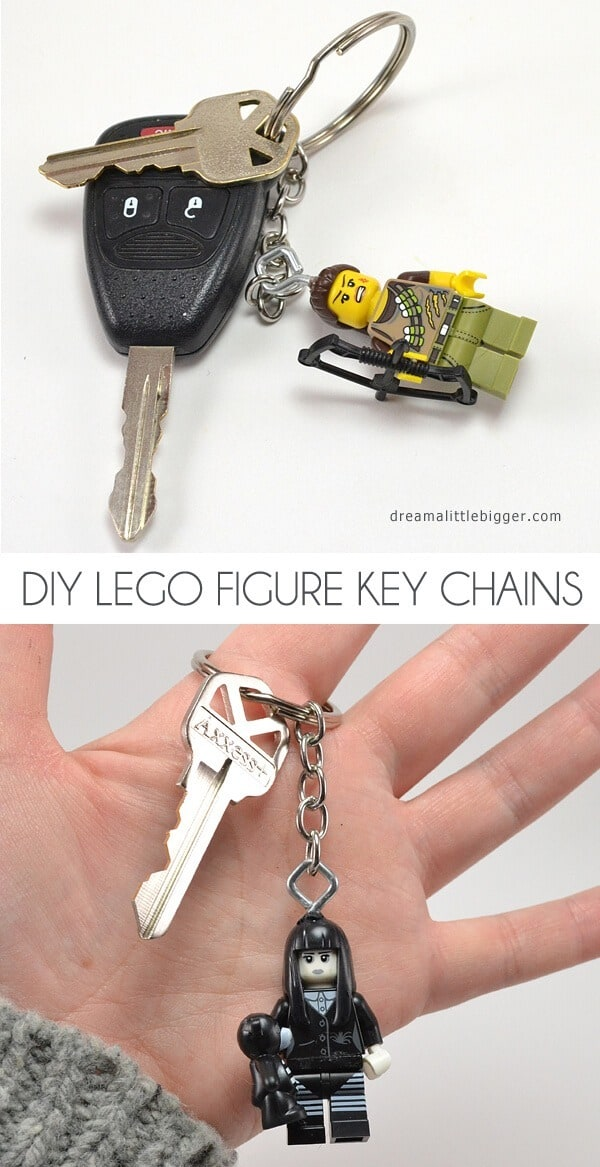 Lego Figure Key Chain