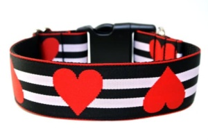 Valentines Dog Collar