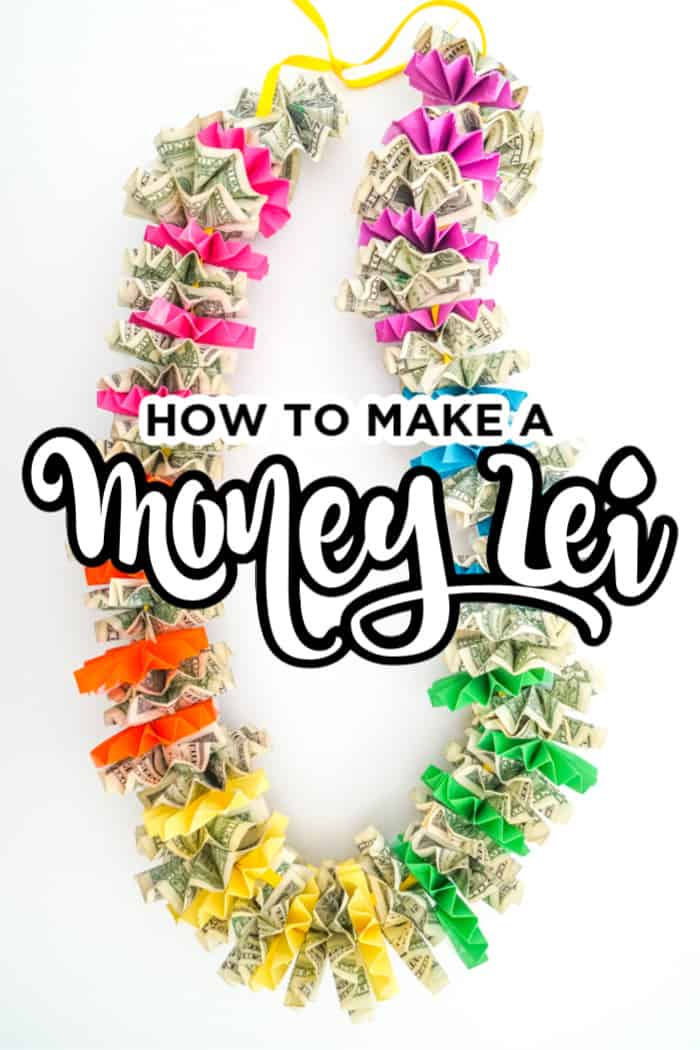 How to Make a Money Lei with School Color