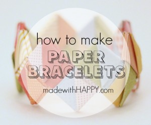 how-to-make-a-paper-bracelet