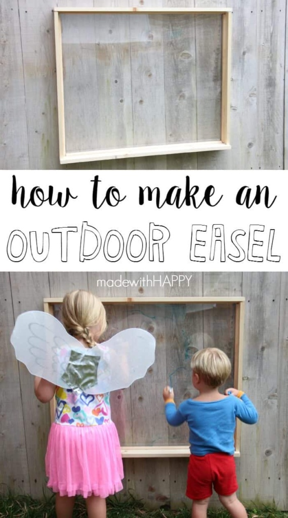 How to make an easel