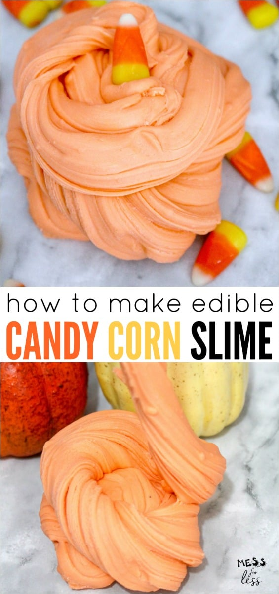candy corn slime