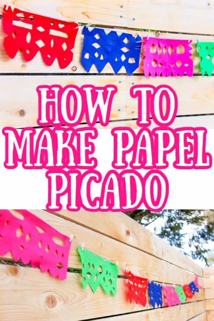 How to make a papel picado