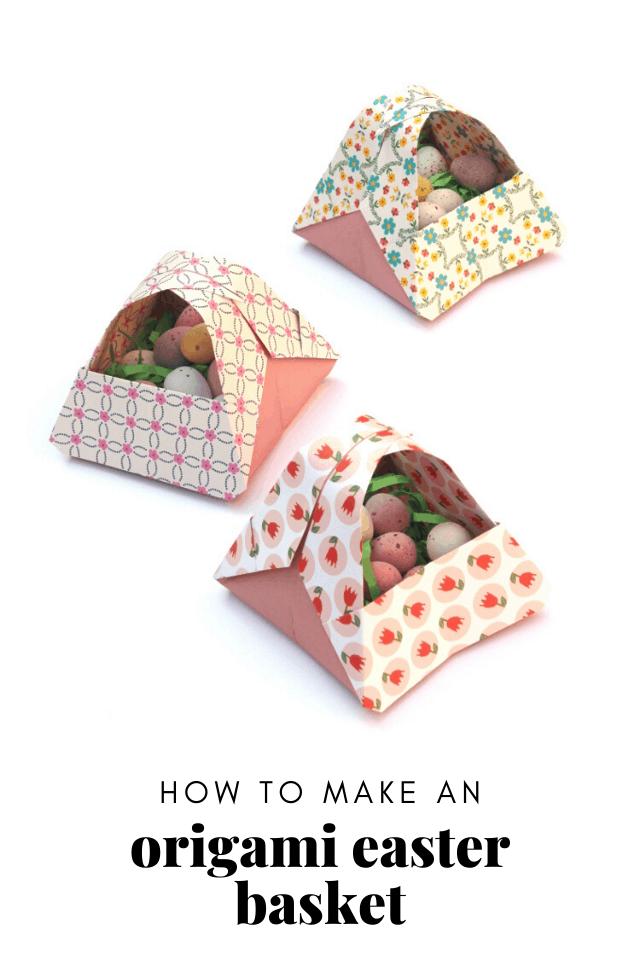 Origami Easter Baskets