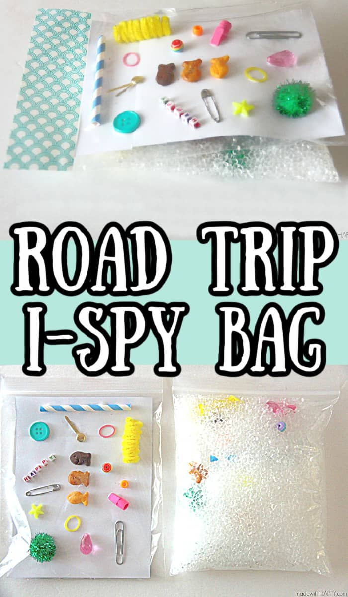 Road Trip I-spy bag