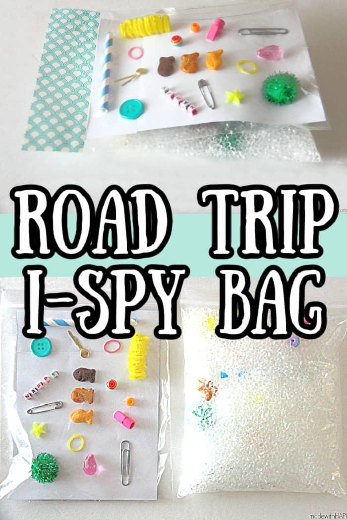 Road Trip I Spy Bag Road Trip Activities For Kids Summer Kids Activities