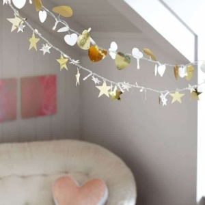 Metallic Icon String Lights