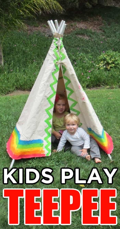 teepee for kids