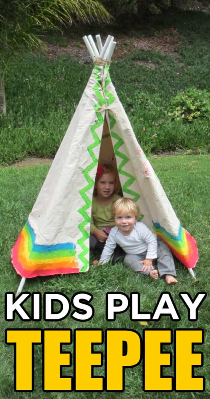 Kids Play Teepee