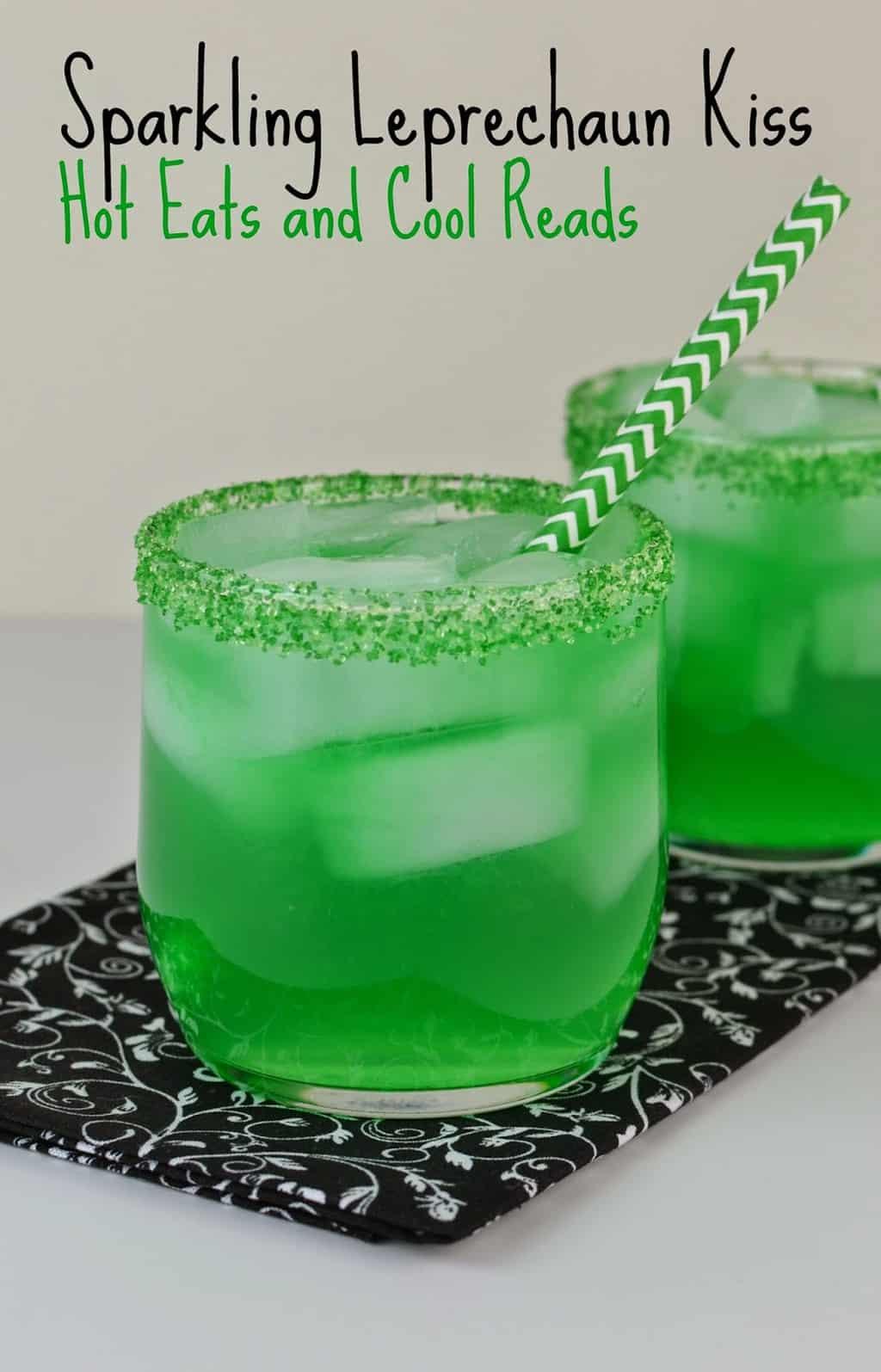 Sparkling Leprechaun Kiss Drink