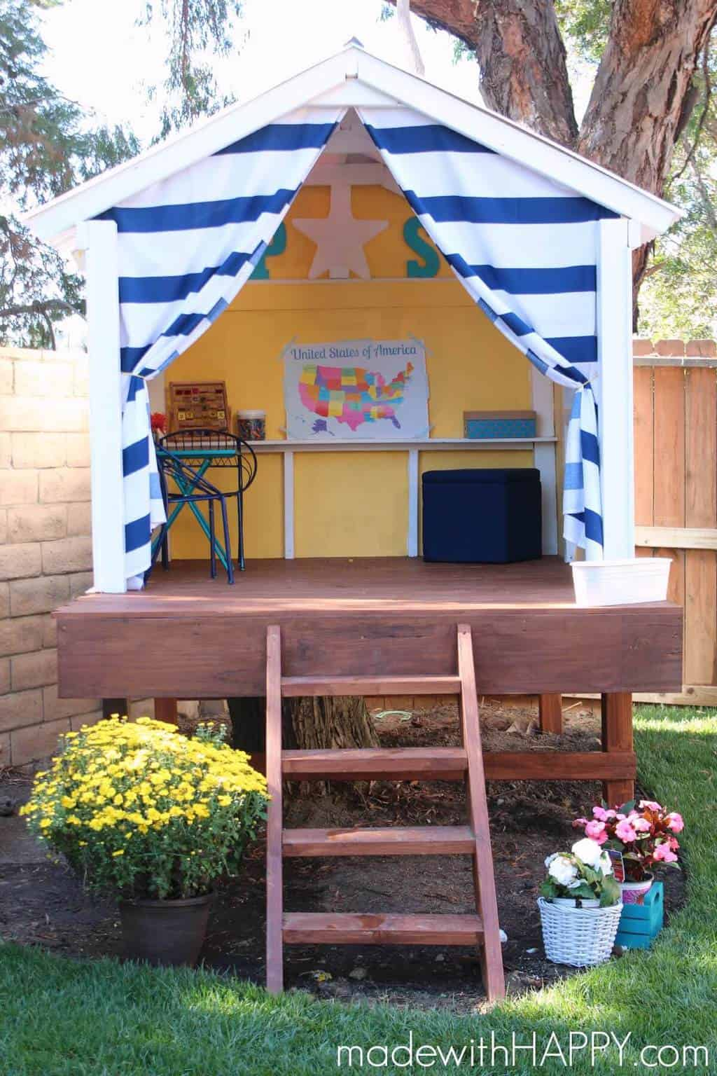 Happy Treehouse | Treehouse Ideas To Make Lasting Childhood Memories In