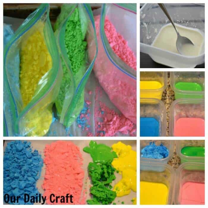India - Making Holi Powder - Our Daily Craft