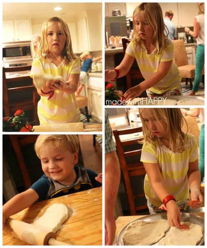 making-pizzas