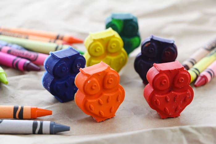 making your own crayons