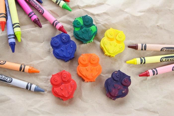 how to make your own crayons out of scrap