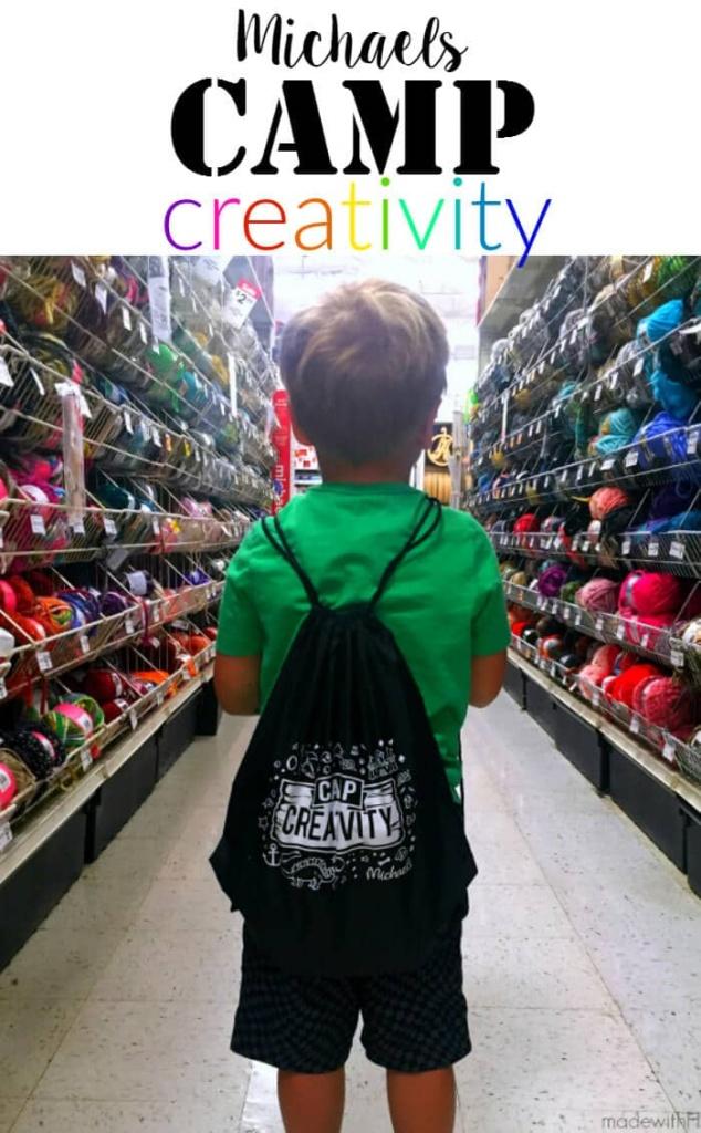 Michaels Creativity Camp