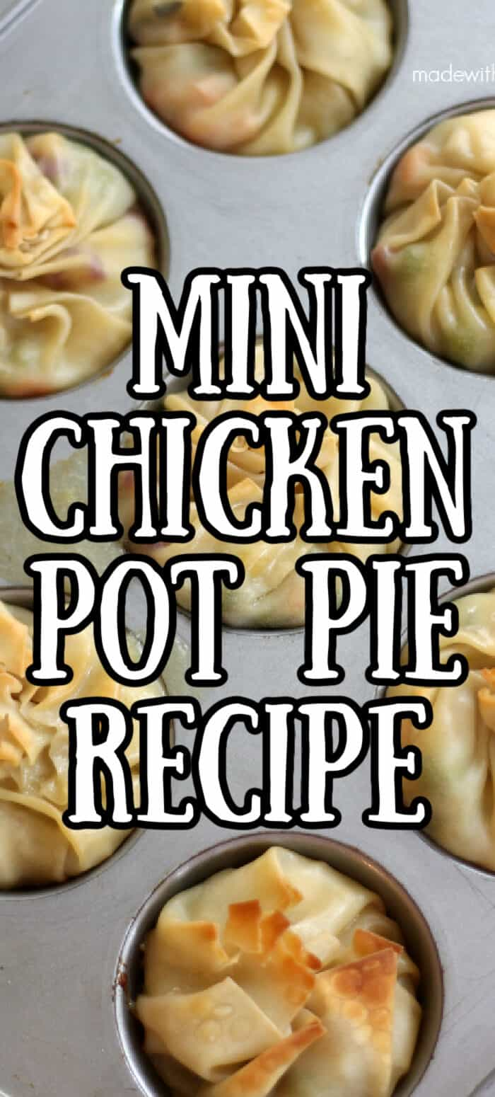 Mini Chicken Pot Pie Recipe