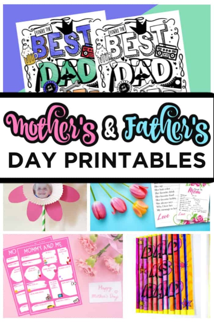 Mother's & Father's day Printables