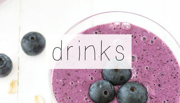 40+ Blueberry Recipes | Blueberry Breakfast | Blueberry Lunch | Blueberry Desserts | Blueberry Drinks | www.madewithHAPPY.com