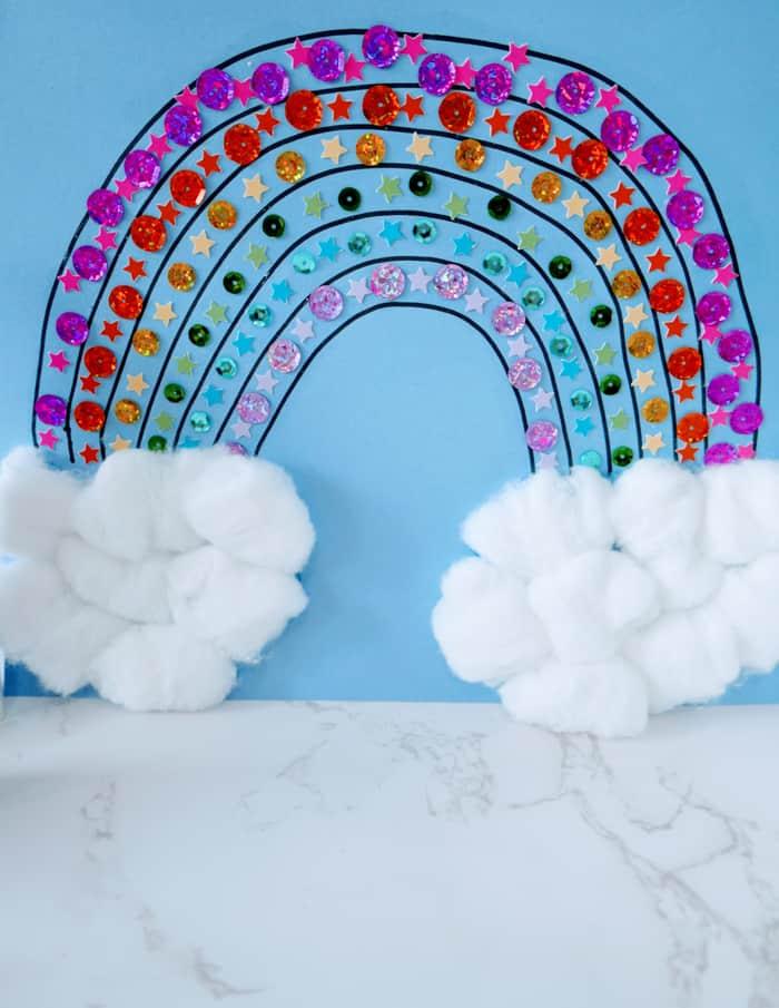 rainbow craft preschool