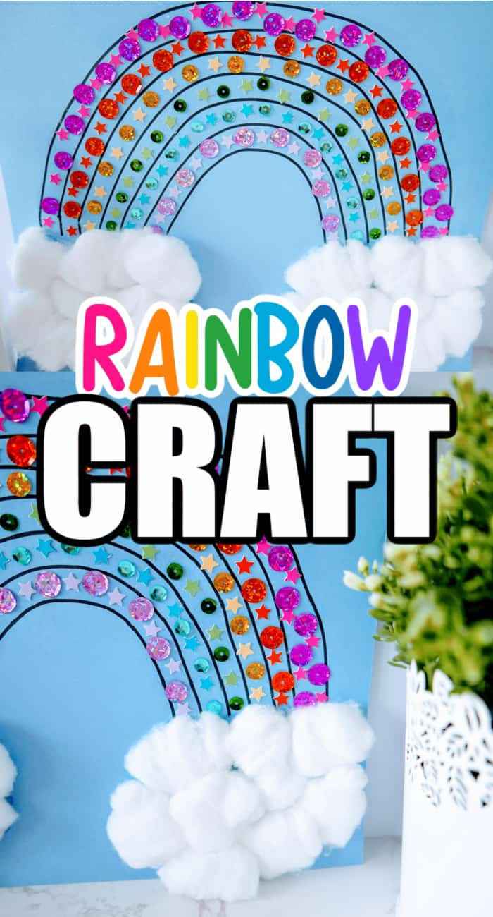 rainbow crafts for toddlers