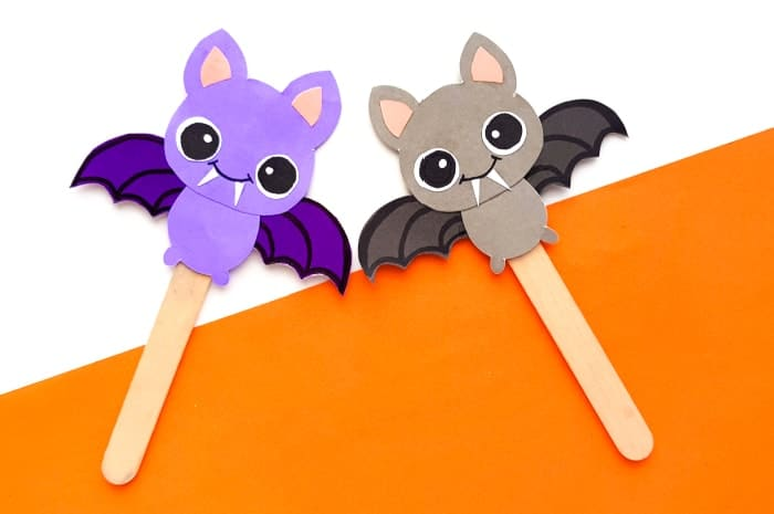 Halloween Bat Crafts For kids