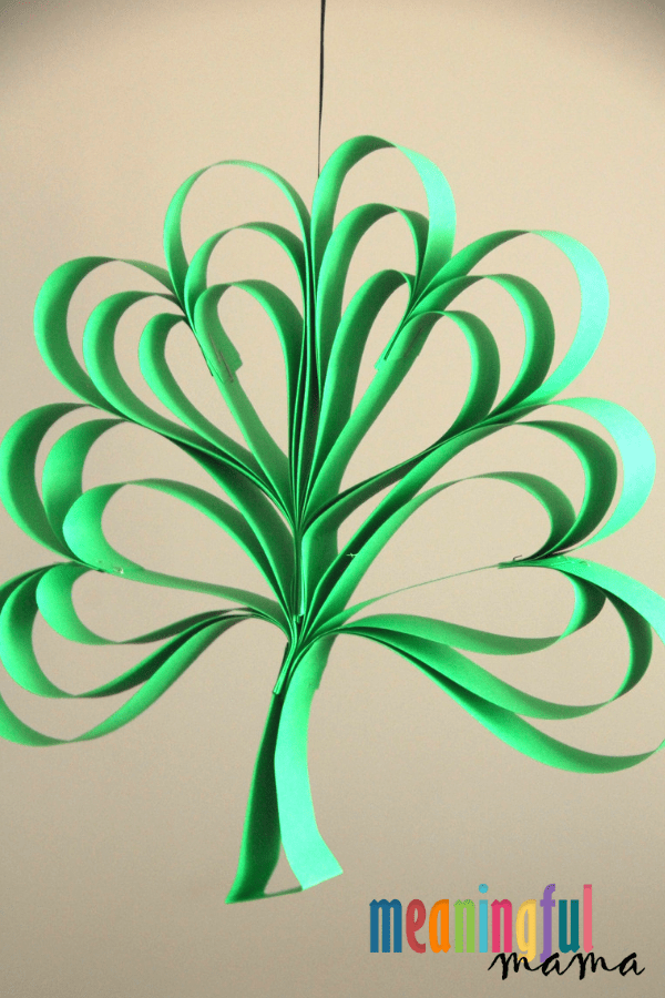 Paper Clover Craft