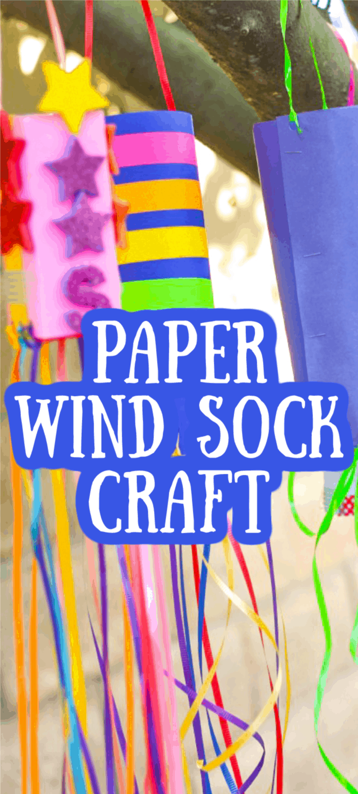 Paper Wind Sock Craft Ideas