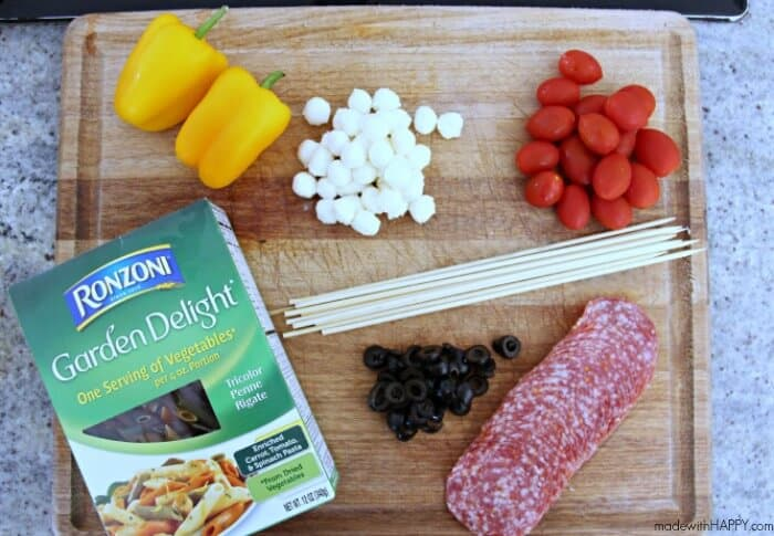 Ronzoni Garden Delight Ingredients 1 Box Ronzoni Garden Delight