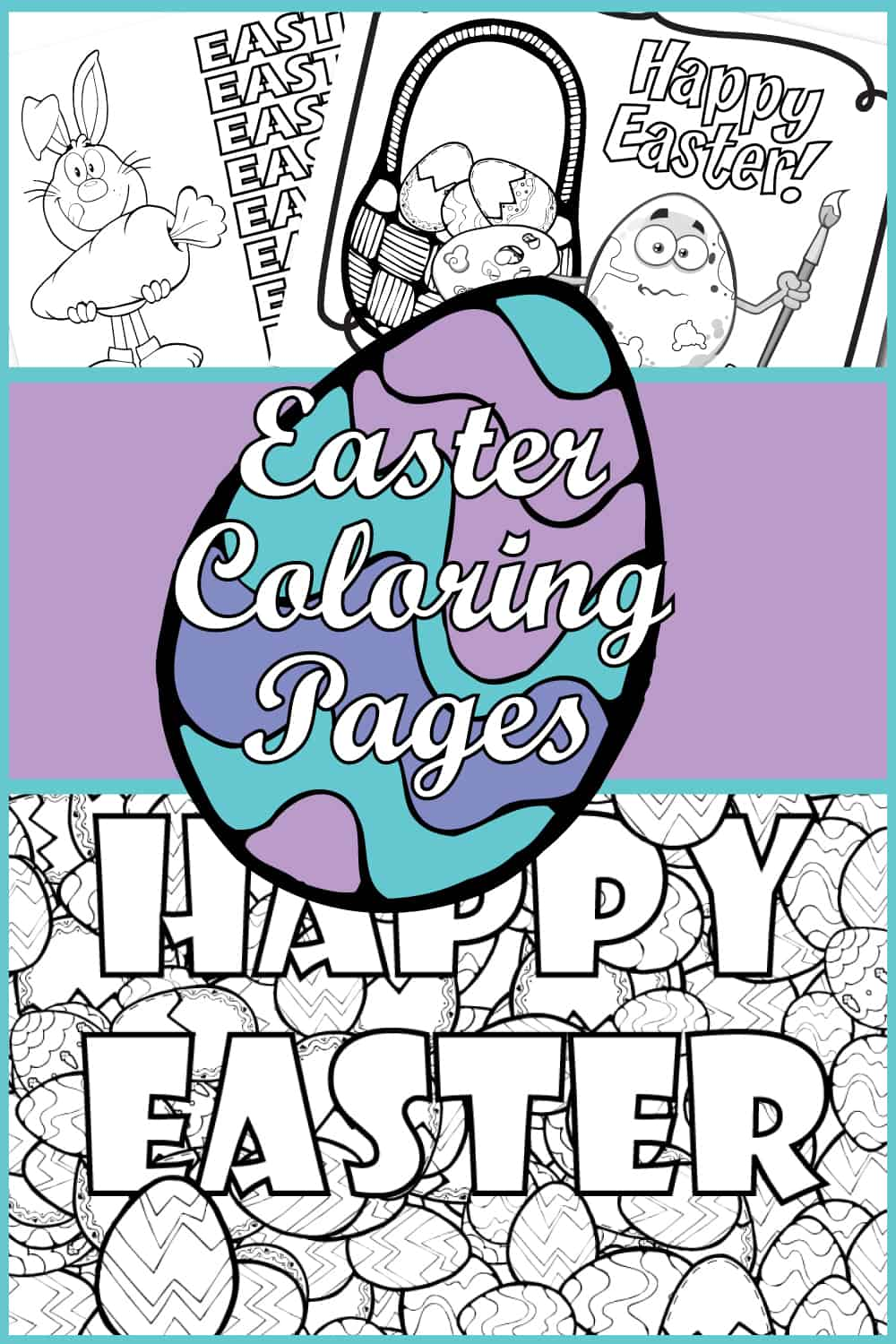 - Free Printable Easter Coloring Pages - Fun Easter Coloring Sheets