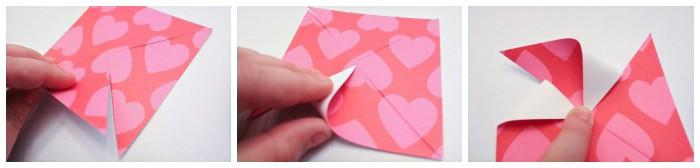 paper folding for pinwheel