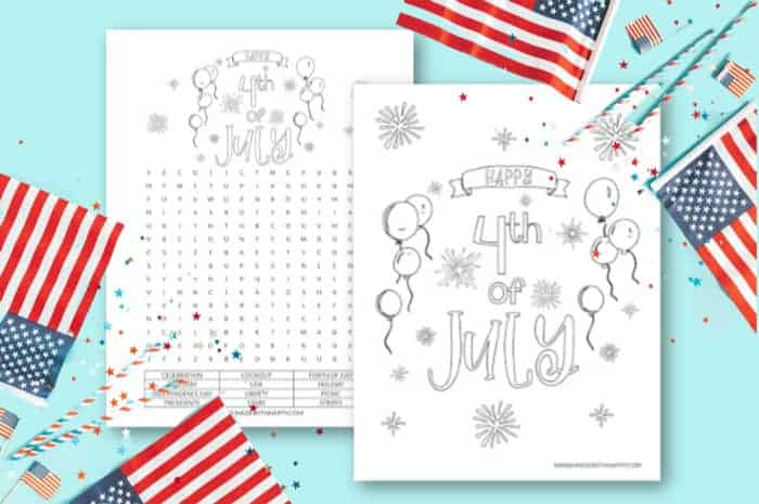 printable patriotic Kids Crafts