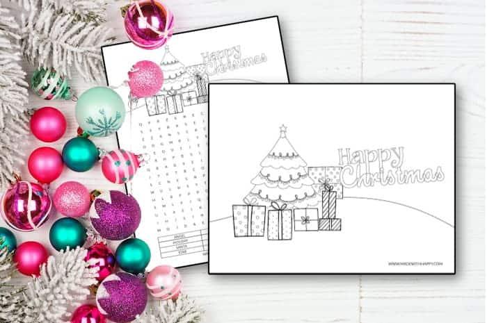 Free Printable Christmas Coloring Sheets