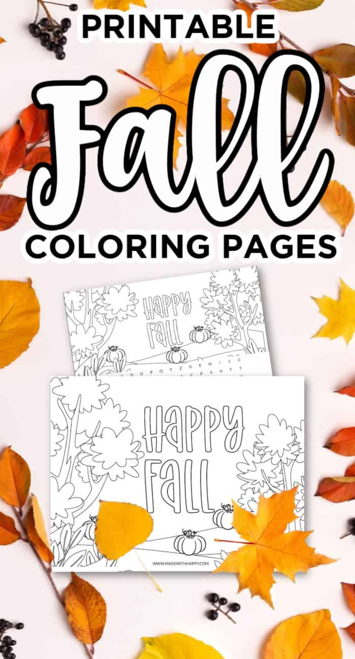 Printable-Fall-Coloring-Pages