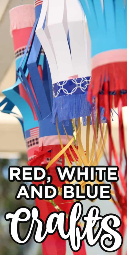 Red, White and Blue Crafts
