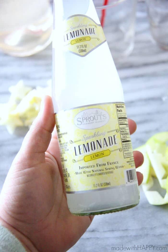 Sparkling Lemonade to add into the sangria recipe