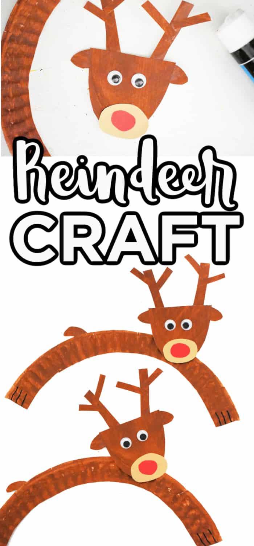 Kids Christmas Reindeer Craft