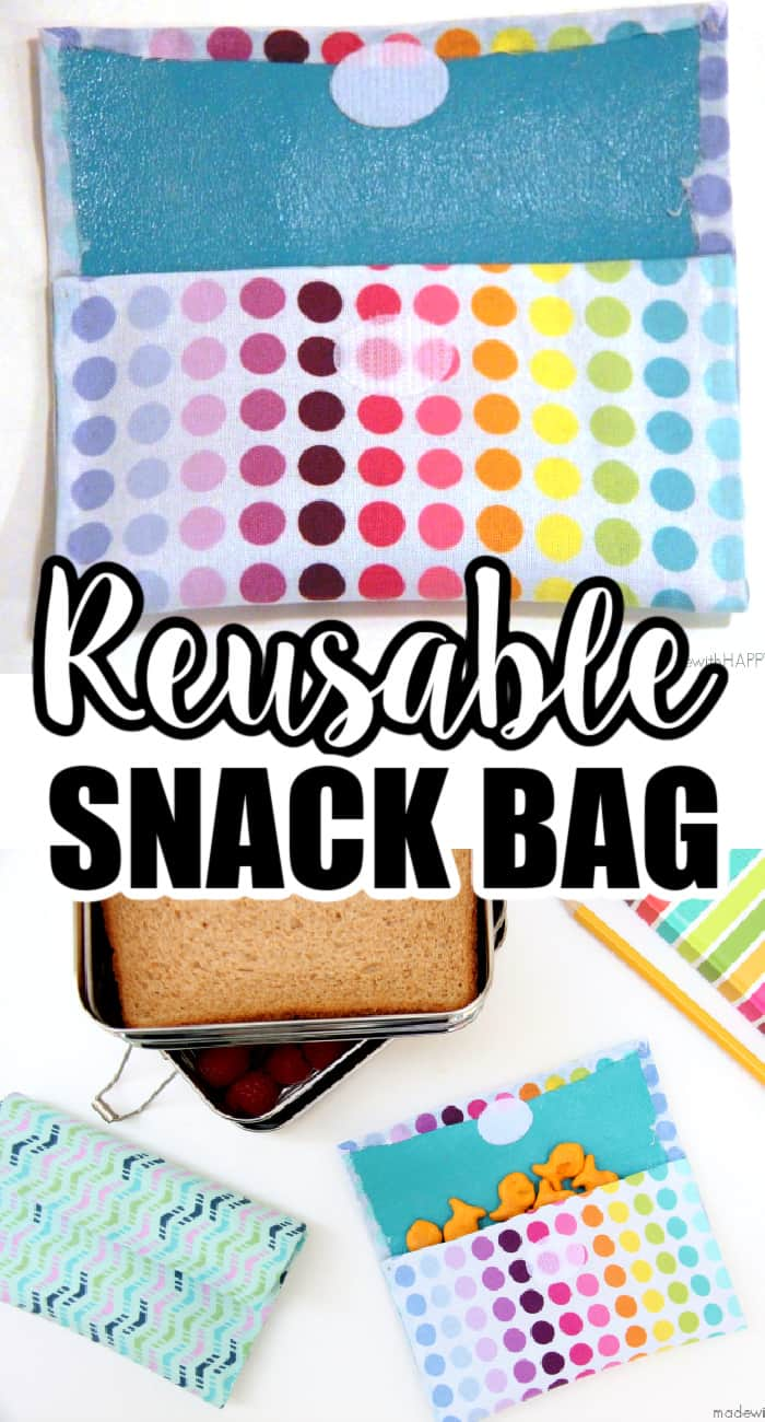 Reusable Snack Bag