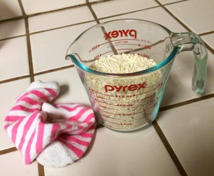 rice & sock