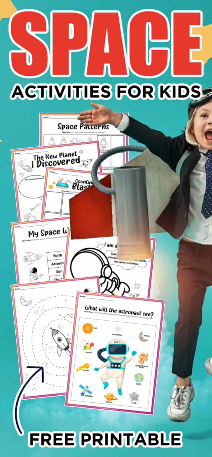 fun space projects for kids