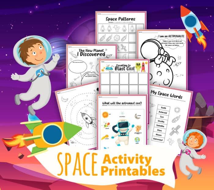elementary space activities