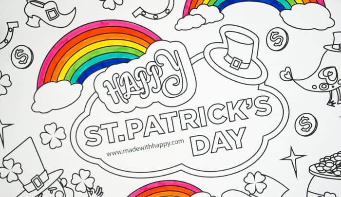 12 Printable St. Patrick's Day Coloring Pages for Kids | Coloring ... | 405x700