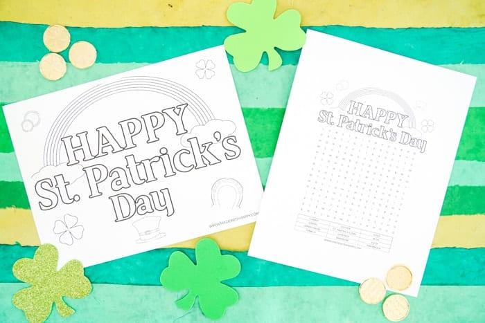 Free Printable St. Patricks Day