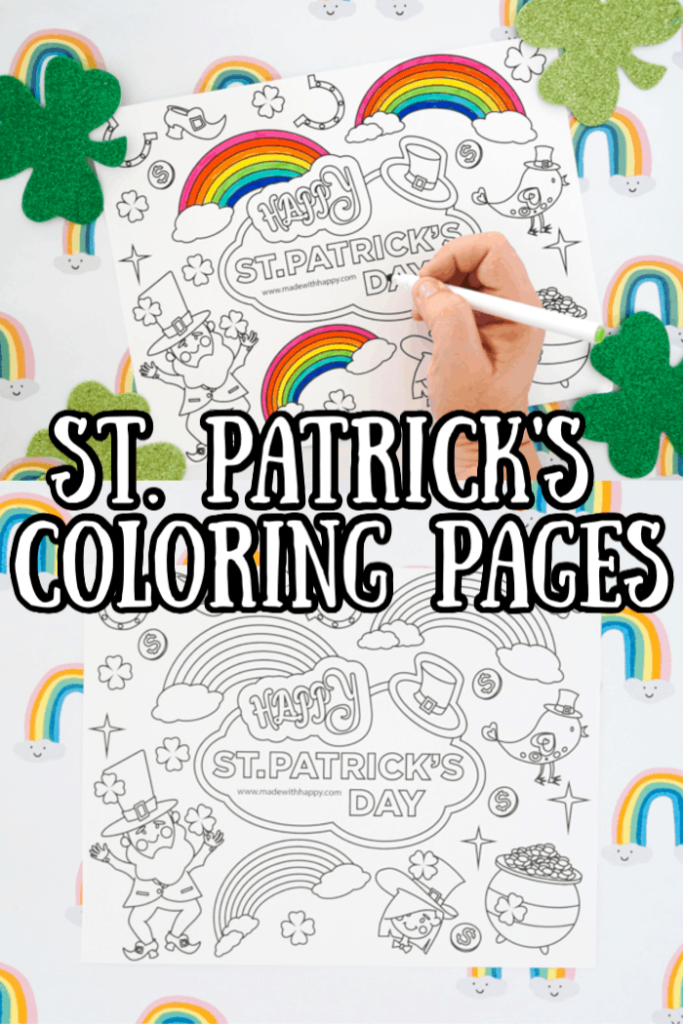Free St. Patrick's Coloring Pages