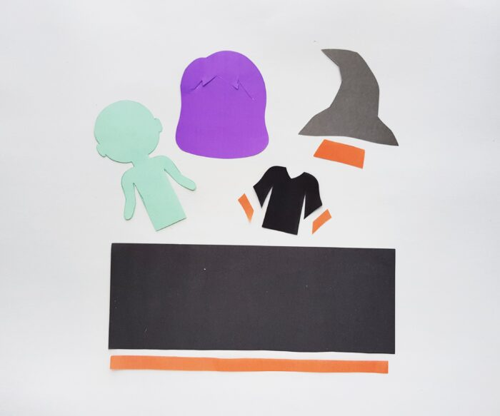 witch cutouts