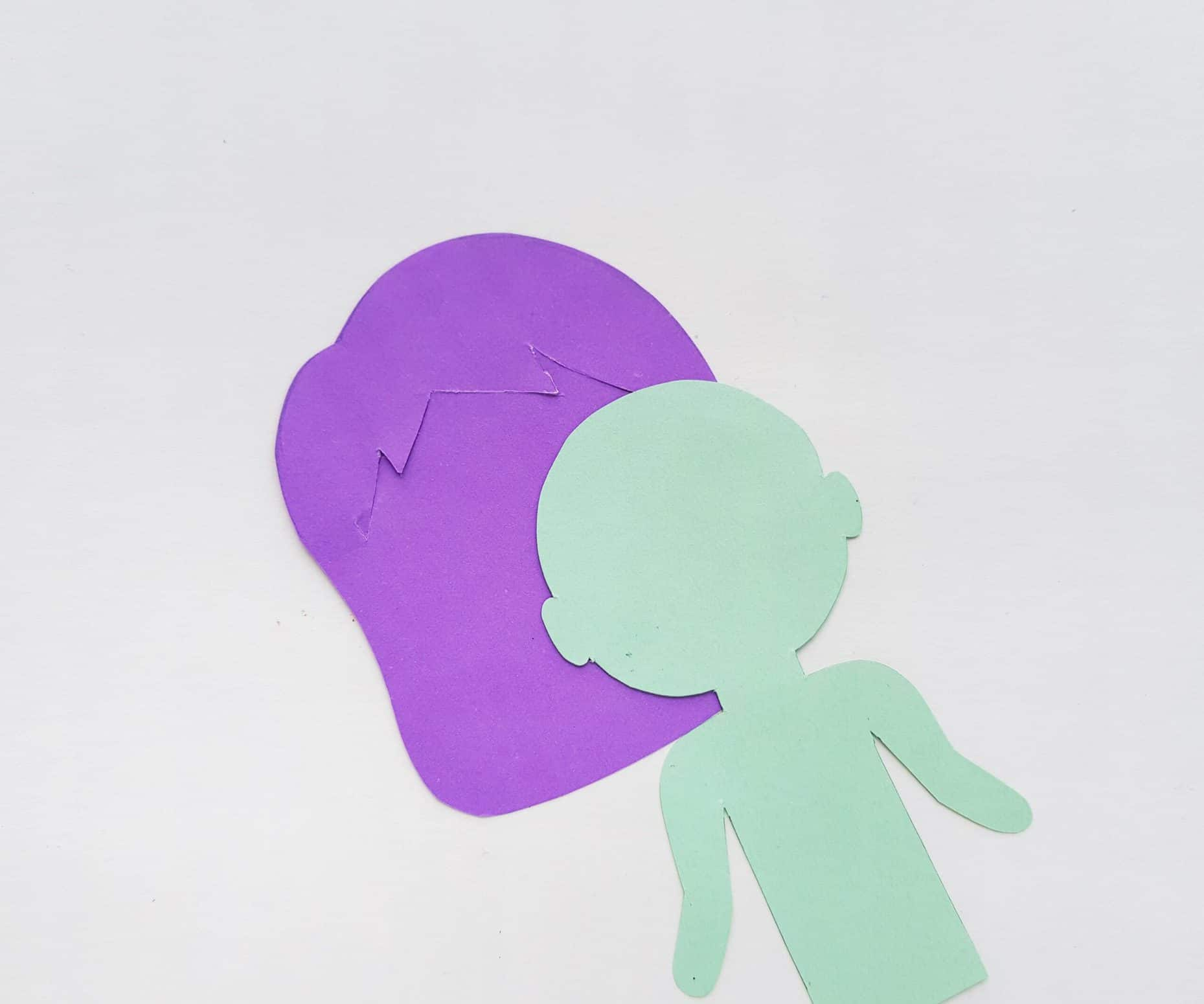 paper doll cutout