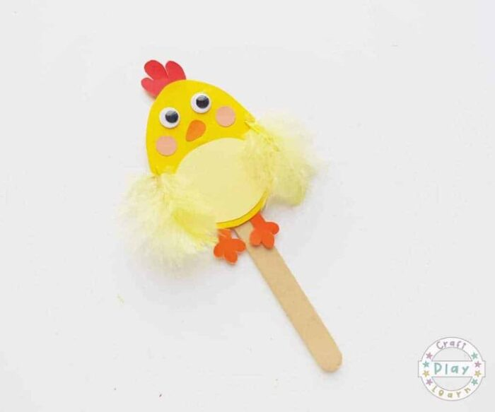 Easter Chick Puppets