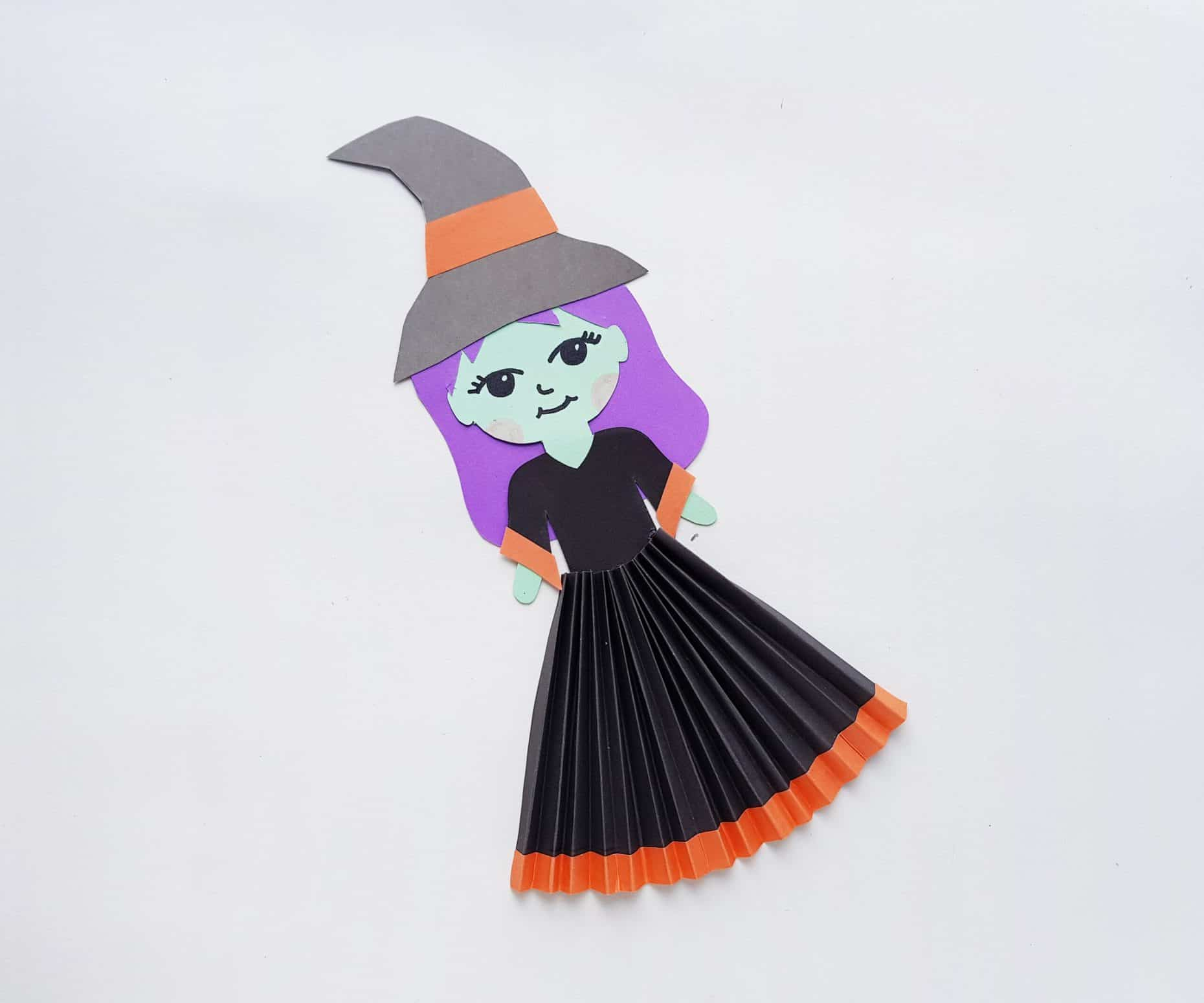 paper doll witch