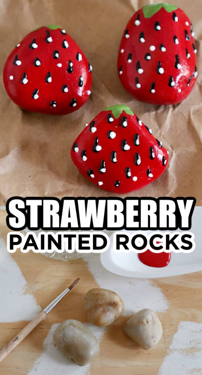 strawberry painting easy