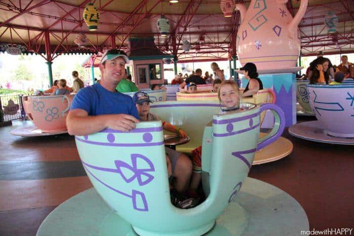 Tea Cups | Made with HAPPY goes to the happiest place on earth!